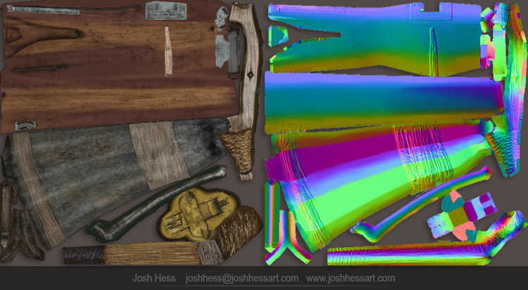 Texture Maps for the crossbow